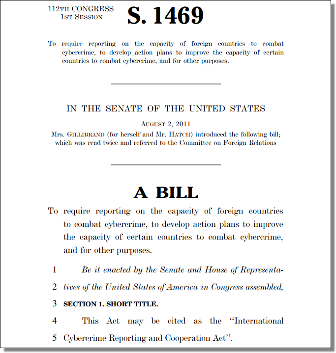 112th Congress, S. 1469