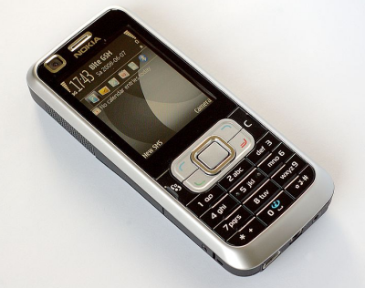 Nokia 6120c, image from Wikipedia