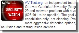 AV-Test.org May 2007