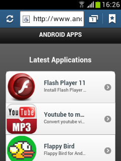 Flash, YouTube, Flappy Bird