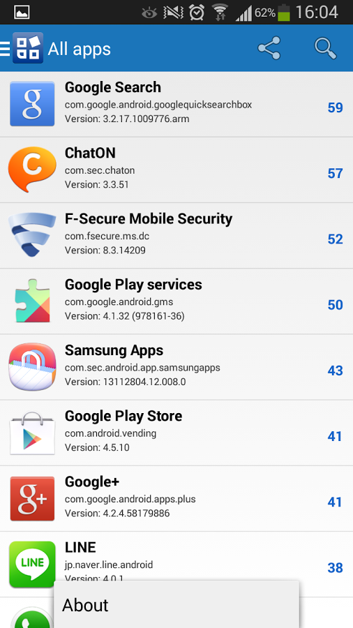 F-Secure App Permissions 1.7.0