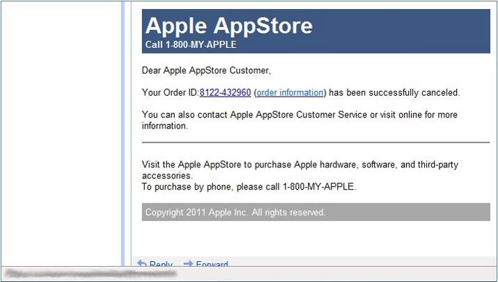 AppStore Phishing