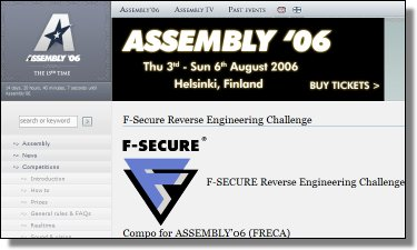 F-Secure Sponsors Assembly 2006