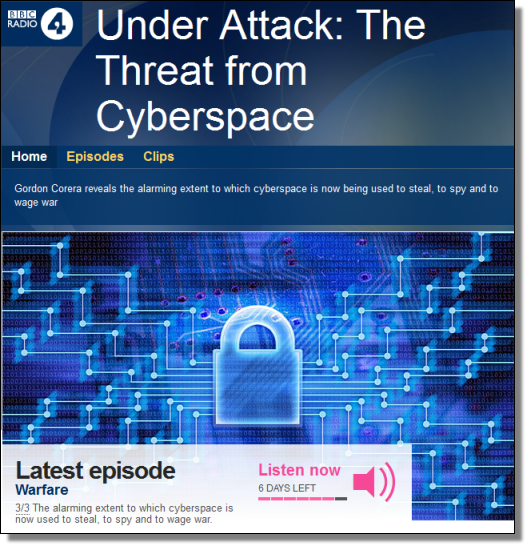 Under Attack: The Threat from Cyberspace