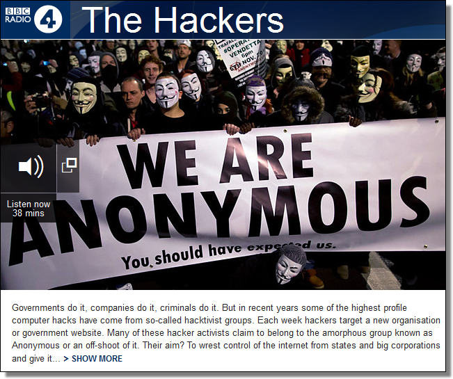 BBC Radio 4, The Hackers