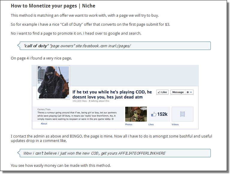 How to buy Facebook pages and Monetize them