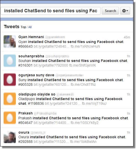 ChatSend Spam, Twitter