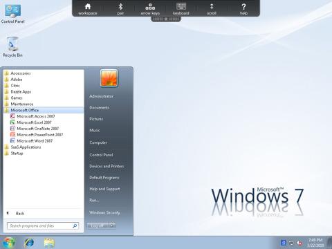 Citrix Receiver for iPad, http://itunes.apple.com/us/app/citrix-receiver-for-ipad/id363501921