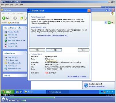 DeepGuard Demo with Haxdoor.KI