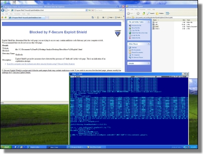 Exploit Shield vs DirectShow Exploit