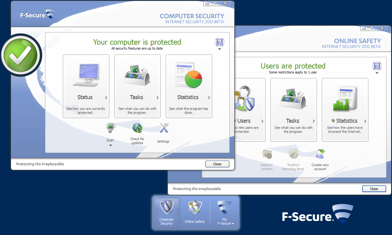 F-Secure Internet Security 2012 Beta