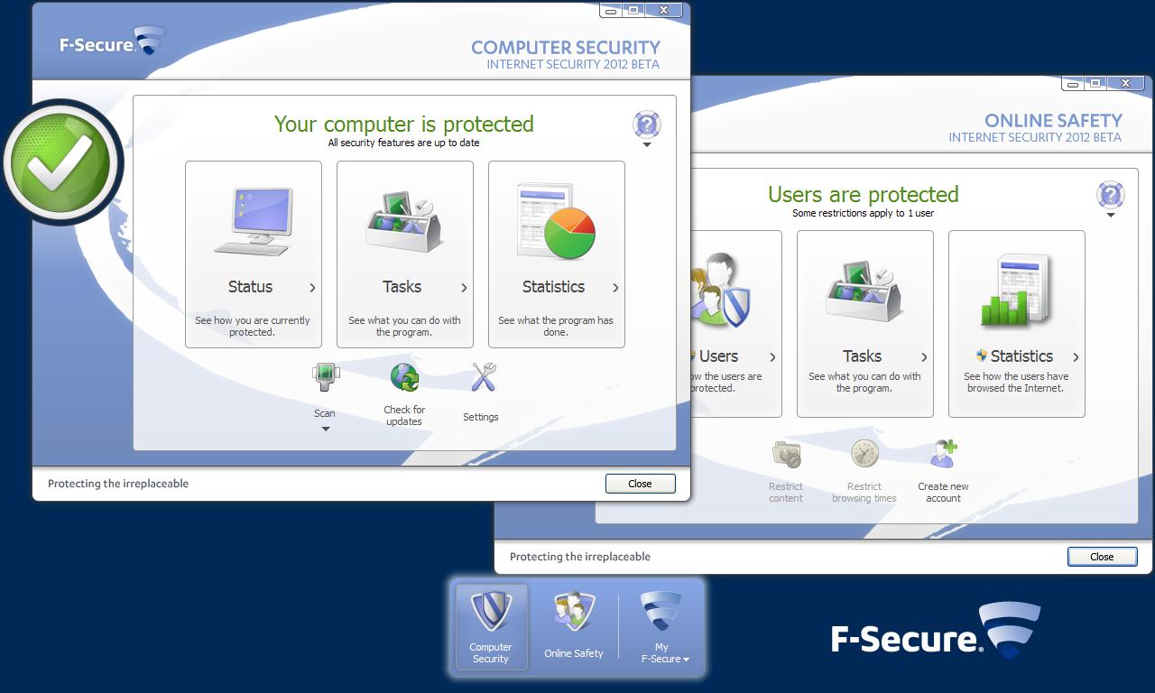 F-Secure Internet Security 2012 Beta