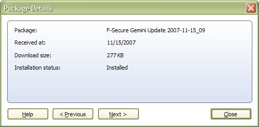 Gemini Update 2007-11-15_09