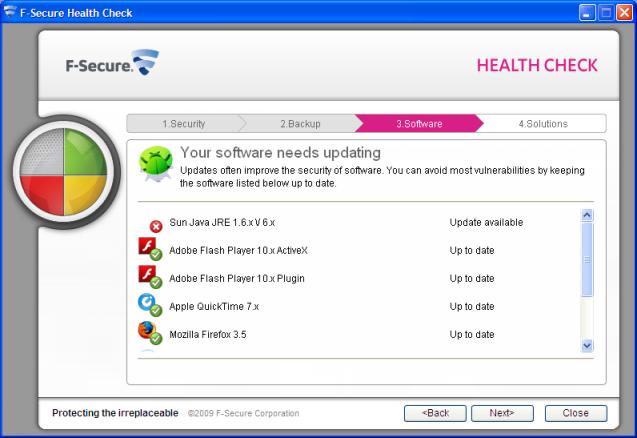 F-Secure Health Check 2.0 Beta