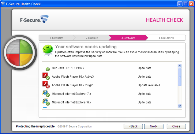 F-Secure Health Check 2.0 Beta