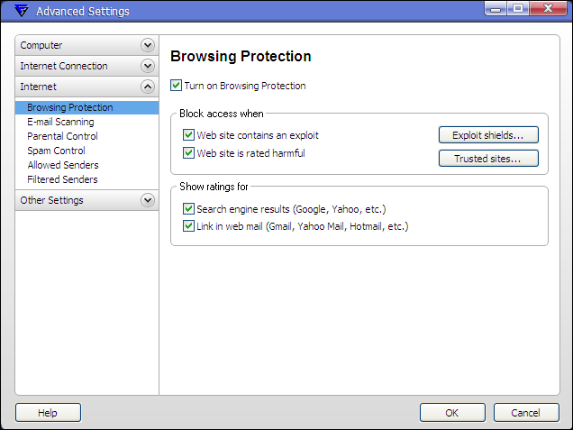 F-Secure Technology Preview 9.40  <br />Browsing Protection