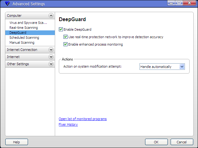 F-Secure Technology Preview 9.40  <br />DeepGuard