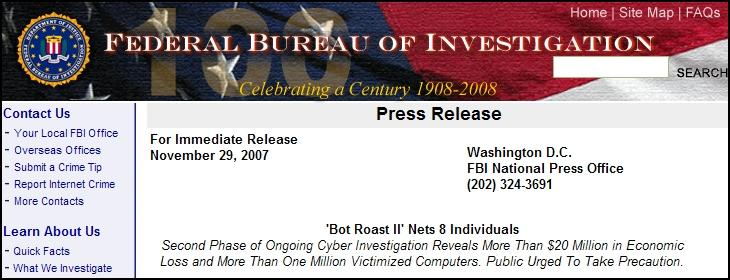 FBI Bot Roast II