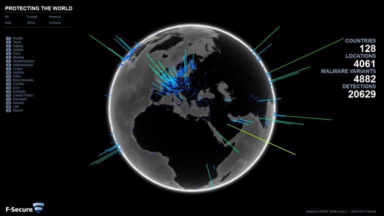 F-Secure Globe