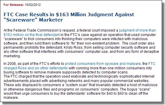 FTC, Winfixer