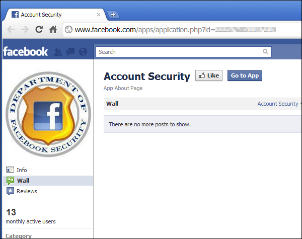 Department of Facebook Security