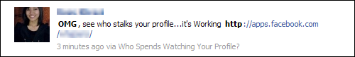 OMG, see who stalks your profile...it's Working