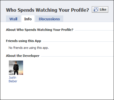 Who Spends Watching Your Profile?