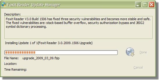 Foxit 3.0.2009.1506