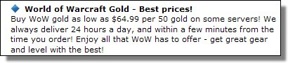 Best Prices on Gold