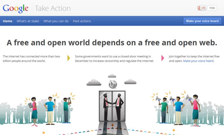 Google Take Action, World War 3.0