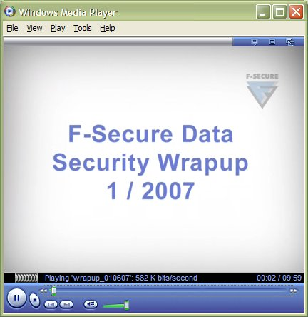 Summary video for H1 2007