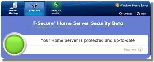 Home Server Security Beta