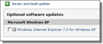 Optional IE7