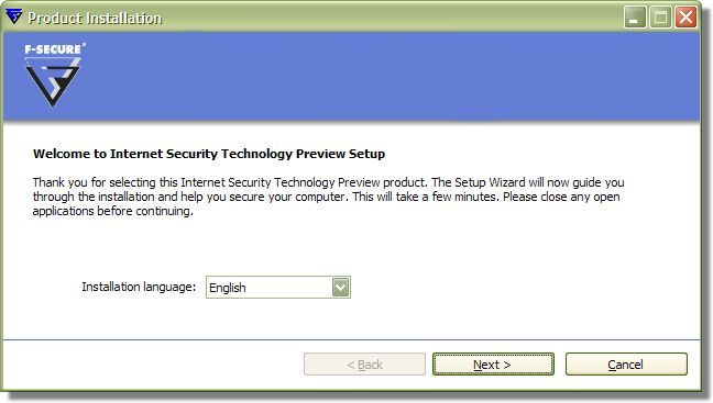 Internet Security 2009 Beta