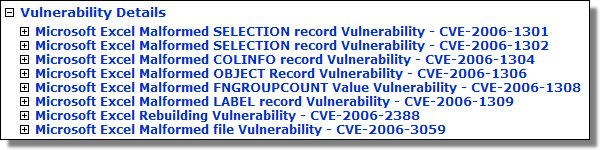 July's Excel Vulnerabilities