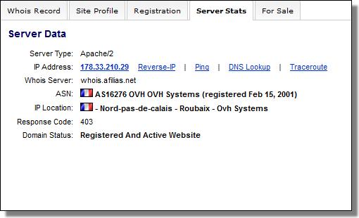 DomainTools, docforum.info