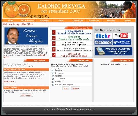 Kalonzo Musyoka for President