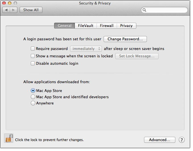 Mac, Security & Privacy