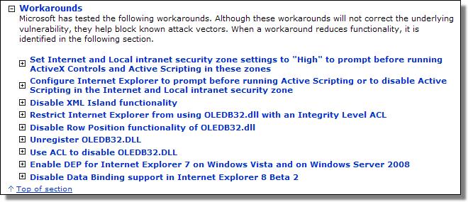 Microsoft Security Advisory 961051