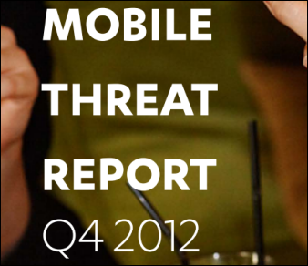 Mobile Threat Report Q4 2012