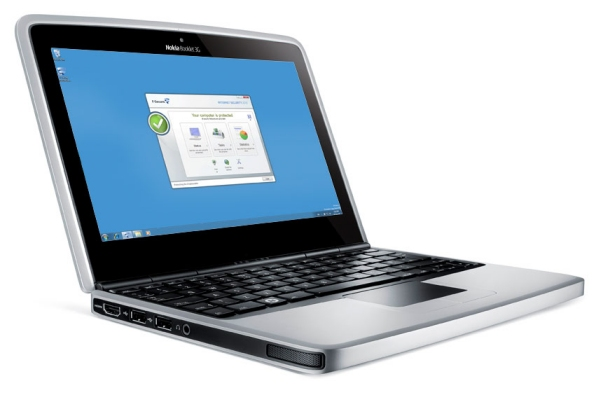 Nokia Booklet 3G with IS2010