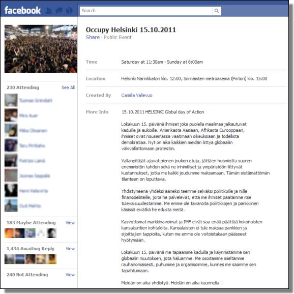 Occupy Helsinki