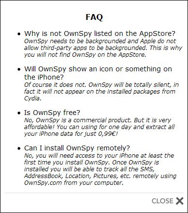 OwnSpy FAQ