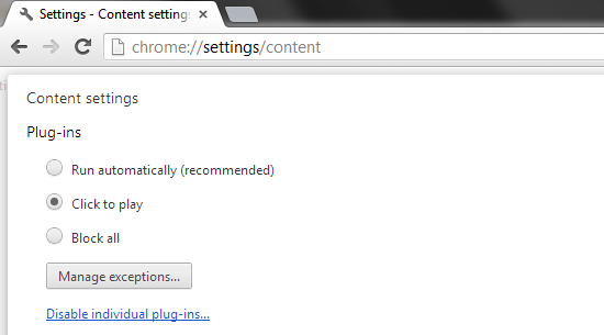 chrome://settings/content