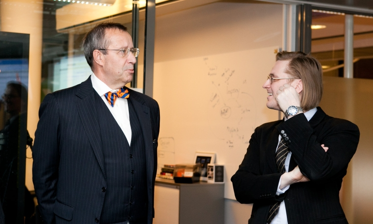 President Ilves and Mikko