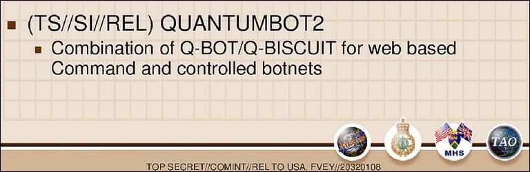Combination of Q-Bot/Q-Biscuit