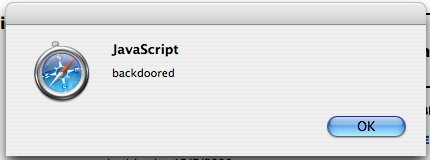 QuickTime Safari JavaScript