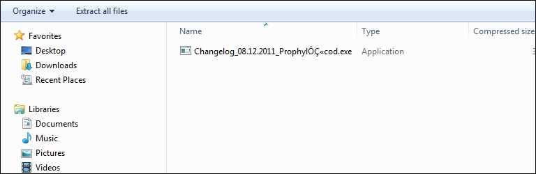 Compressed Folder