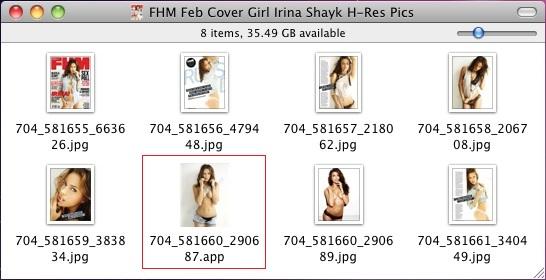 FHM Feb Cover Girl Irina Shayk H-Res Pics