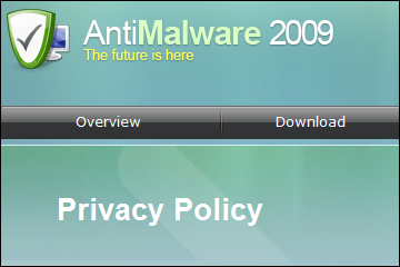 Rogue AntiMalware 2009